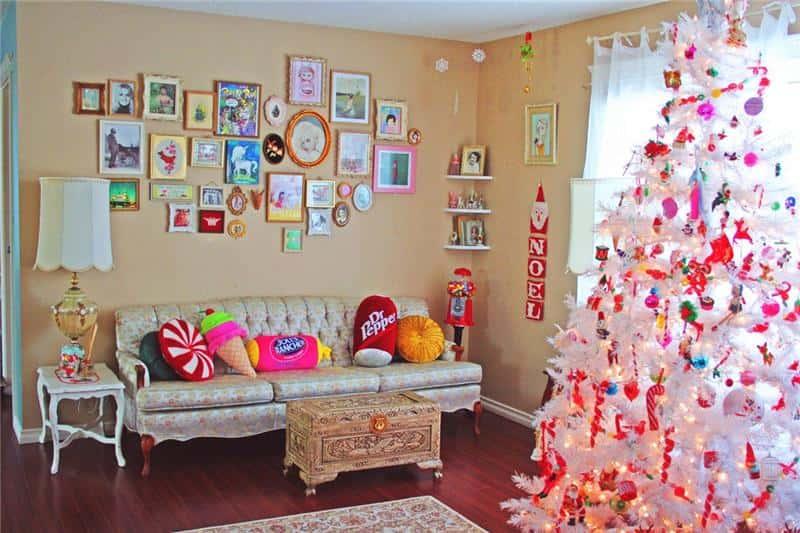 Фото как украсить свою комнату на новый год своими руками