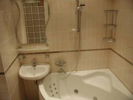 Дизайн ванной в маленьком доме