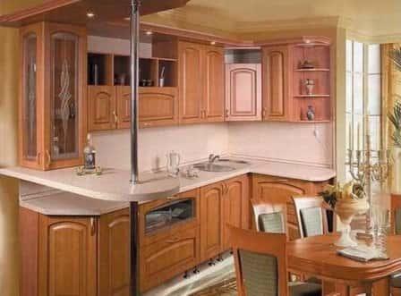 Современная кухонная мебель и ее модельное разнообразие