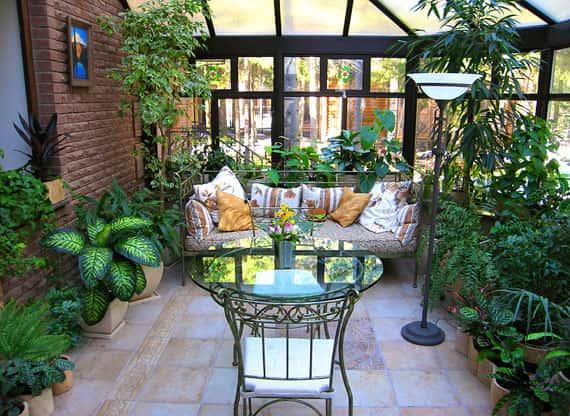 Зимний сад уютный уголок в вашем доме