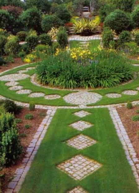 Садовые участки ландшафтный дизайн своими руками фото 810