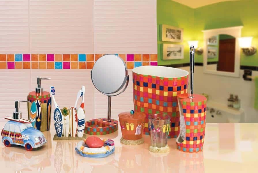 младше двух красивые принадлежности для ванны комнаты белья отталкивать влагу