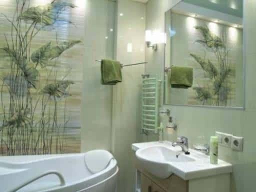 Дизайн ванной комнаты в / источник