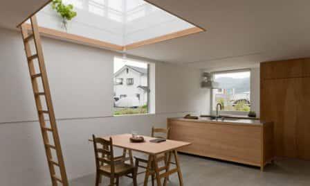 Дом по-японски для семьи из четырех человек