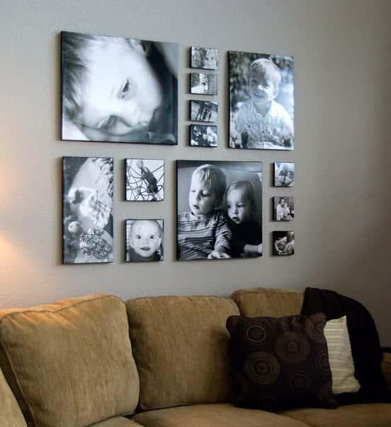 Модульные картины своими руками из фотографии