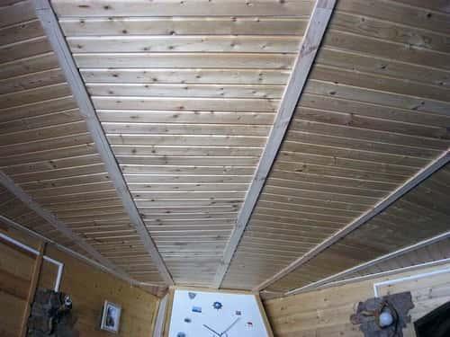Из чего сделать потолок на даче своими руками фото 1132