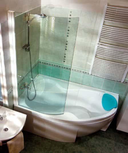 Как сделать душевую кабину в маленькой ванной 5
