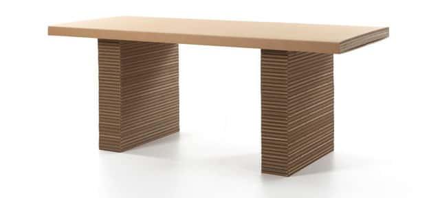 Как сделать журнальный столик из картона своими руками 21