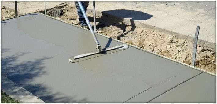 Как сделать стяжку из бетона