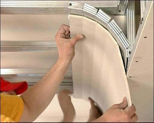 Работа с гипсокартоном своими руками потолки видео