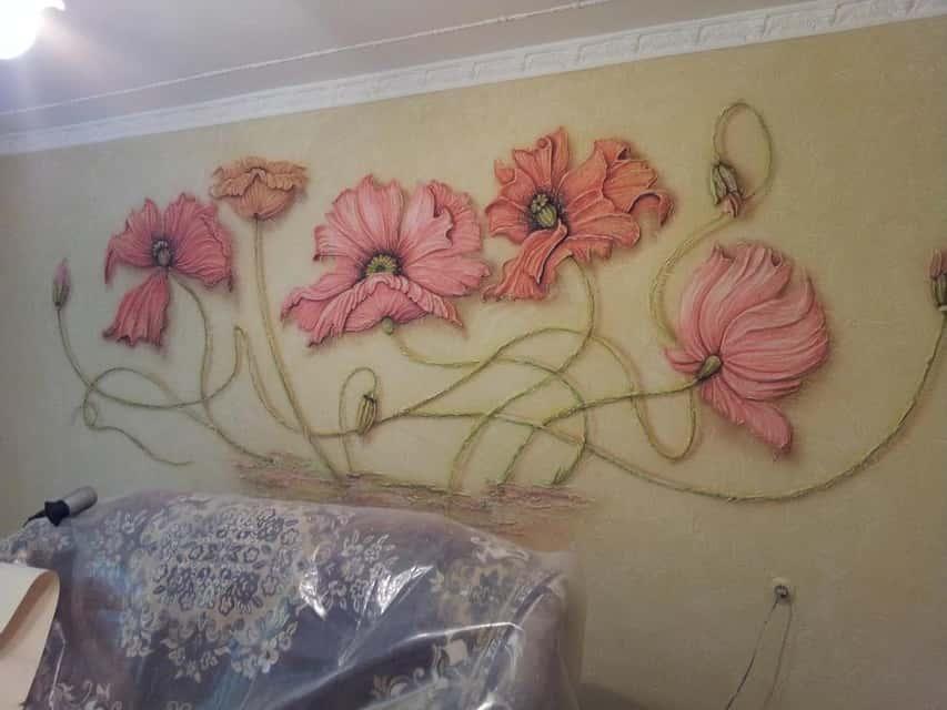 Рельефные панно на стену своими руками 18