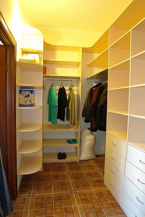проект гардеробной комнаты фото