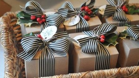 Идеи оформления новогодних подарков