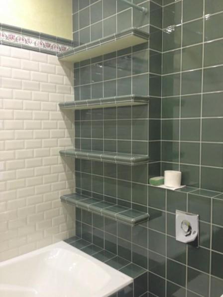 Полки для ванной комнаты своими руками из гипсокартона 675