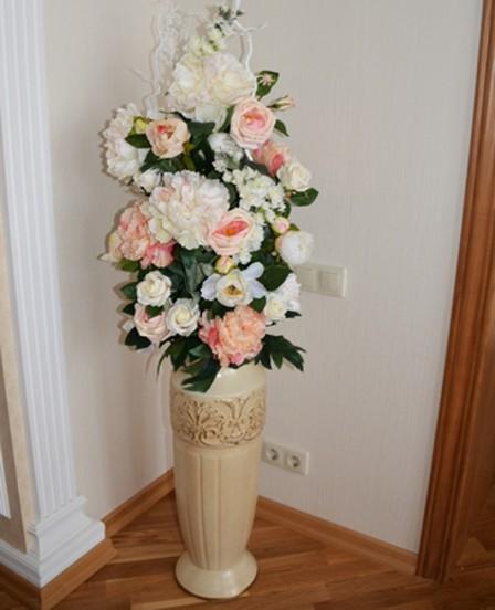 Напольные вазы, как элемент декора