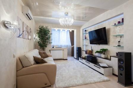 Уютные маленькие квартиры - варианты интерьеров