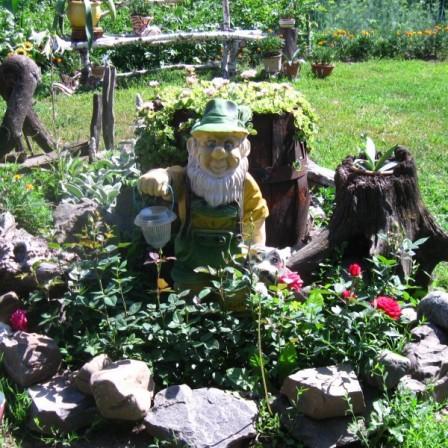 рутарий в саду