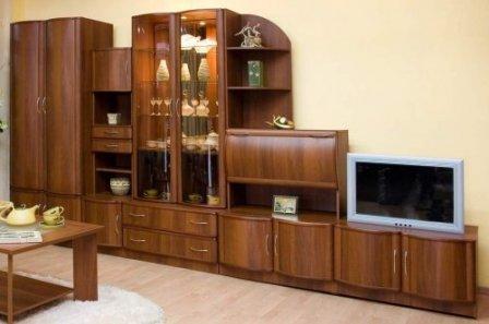 Стенка / валерия мс композиция 13 гостиные мебель для дома к.