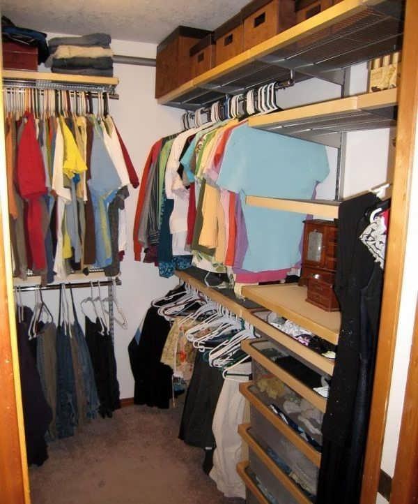 Как сделать из кладовки в хрущевке гардеробную комнату в