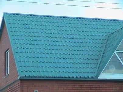 Крыша из металлочерепицы - секрет популярности
