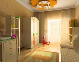 Как выбрать и оформить комнату для ребенка