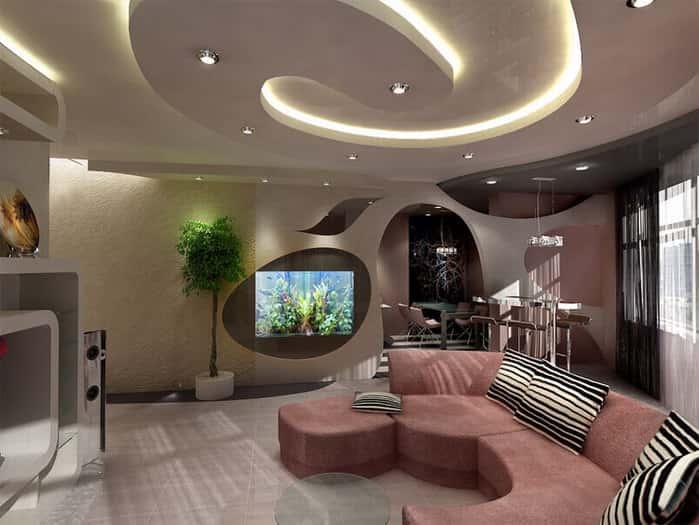 Дизайн гостиной - фотогалерея
