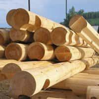 Преимущества  оцилиндрованного бревна при строительстве дома