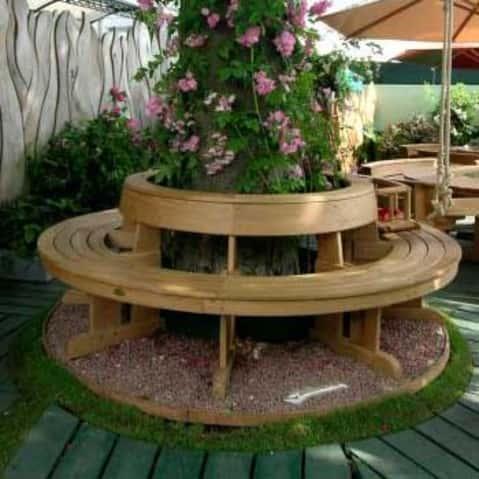 Садовые скамейки своими руками