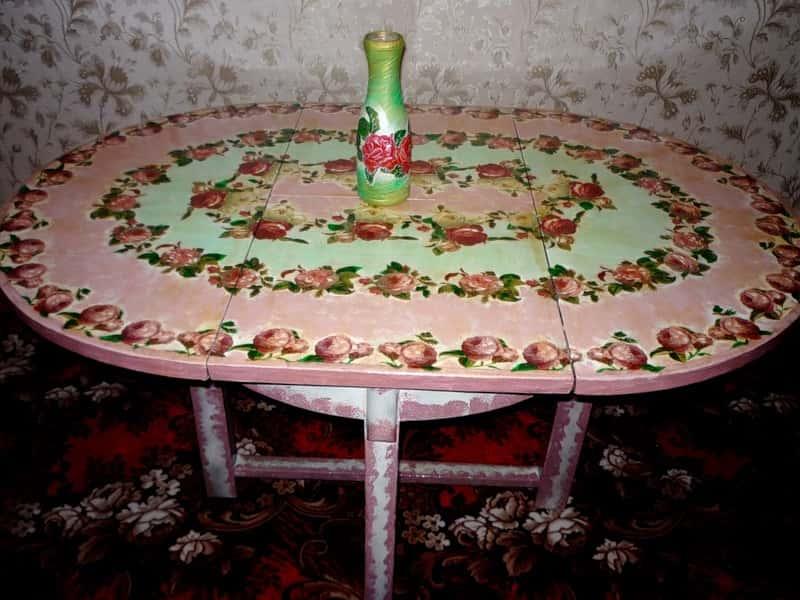 Декорирование стола своими руками - оригинальные идеи (фото)