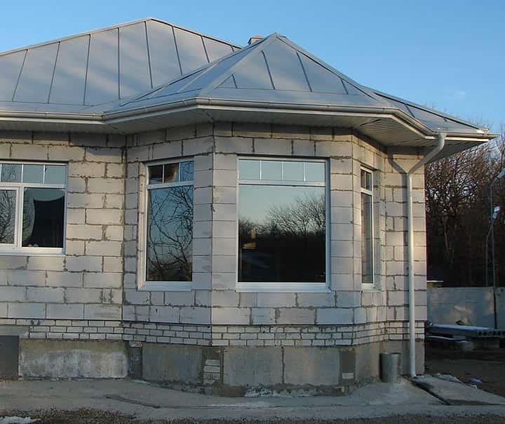 Проекты загородных домов: малоэтажное строительство с применением ячеистого ...