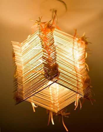 Светильники своими руками - фото-идеи