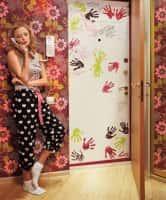 Декорирование дверей своими руками - фото-идеи