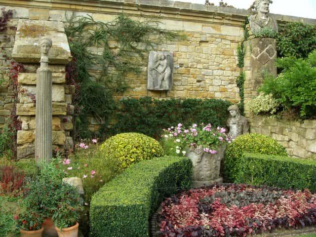 Французский  регулярный сад