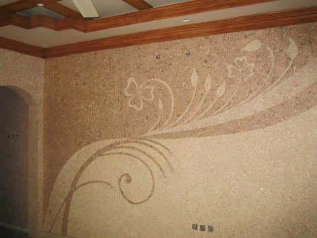 Применение жидких обоев при ремонте квартиры