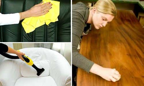 Правильный уход за мебелью