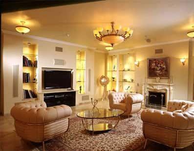 Световой дизайн в интерьере квартиры