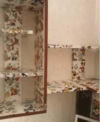 Использование самоклеющейся пленки для декорирования интерьера