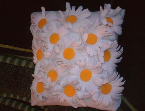 Декоративная подушка своими руками - мастер-класс