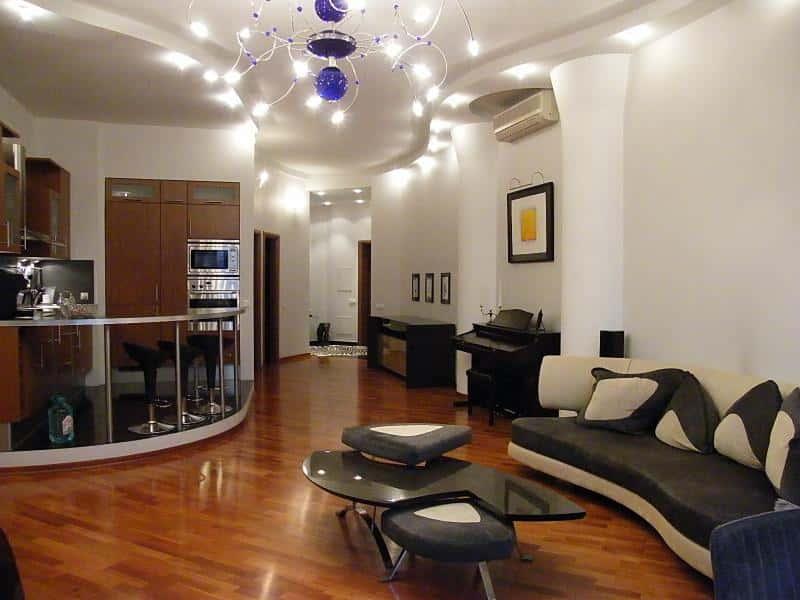 Как сделать уютным дизайн в трехкомнатной квартире