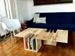 Дизайнерский кофейно-журнальный столик
