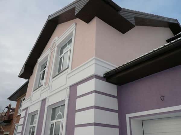 Штукатурные фасады в строительстве