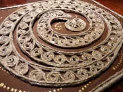 Декор из веревки своими руками