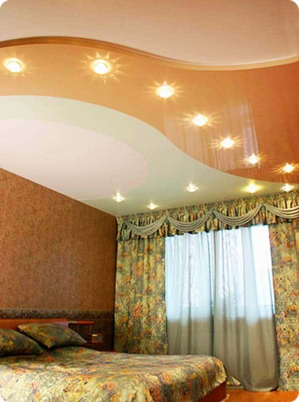 Расширение пространства с помощью натяжных потолков и не только