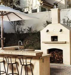 Садовая печь для комфортного отдыха