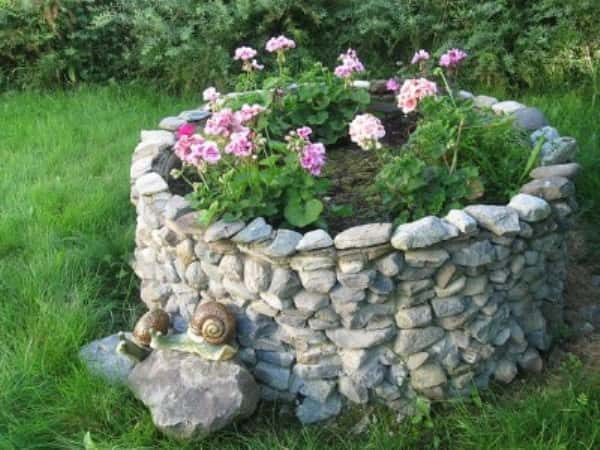 Декор для сада своими руками фото