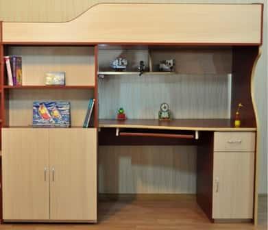 Детская кровать-чердак – идеальное решение для малогабаритных квартир