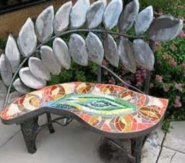Красивые скамейки - фото-идеи для вашей дачи и сада