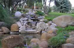 Использование гранита в ландшафтном дизайне