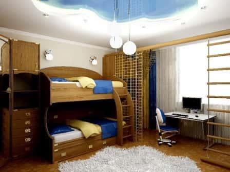 Обустройство комнаты для двух подростков