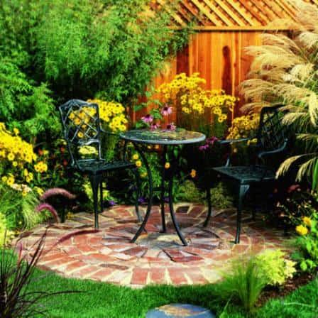 Маленький двор - идеи оформления (фото)